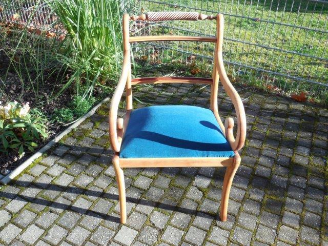 Polsterarbeiten - Makeover eines Stuhls (P3)