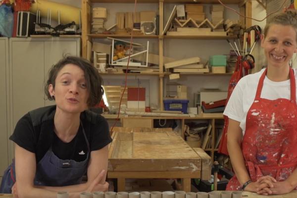 Videoprojekt: Zugeschaut und mitgebaut