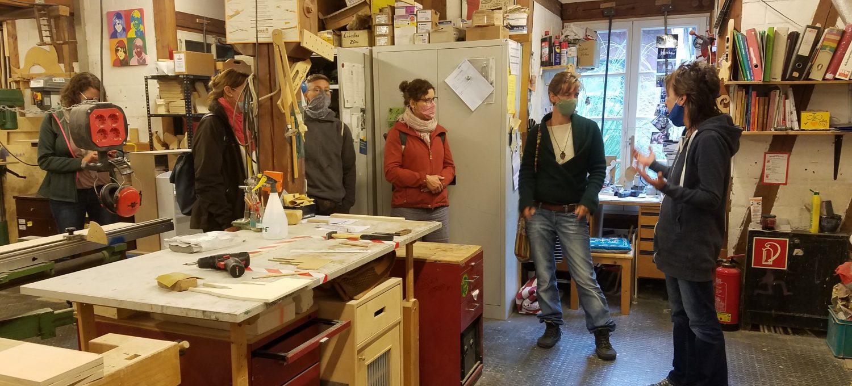 Besuch in der Werkstatt